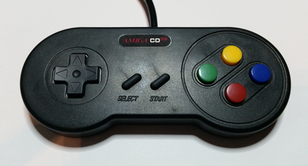 Amiga cd32 custom gamepad english amiga board im happy with the result id rather use a gamepad that dont have analog sticks etc like the psx pad sciox Image collections